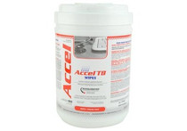 """Accel TB Wipes ACCWIP1-TB-6X7 Hydrogen Peroxide Hard Surface 6"""" x 7"""" (Case of 12)"""
