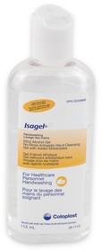 Coloplast 1644 ISAGEL Antiseptic HAND CLEANSING GEL 4oz (118mL) bottle (Case of 36)