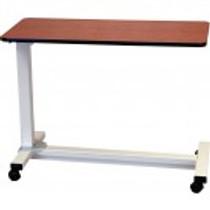 Drive Medical 13080-HOSO Bariatric Heavy Duty Overbed Table -Solar Oak