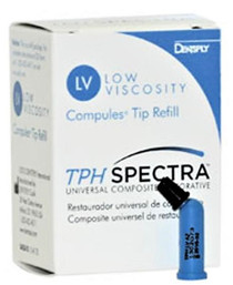 Dentsply 642610 TPH Spectra Universal LV Compule Tip A1 Refill 20/Bx