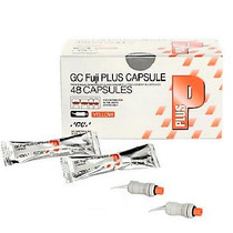 GC Fuji PLUS Luting Cement – Capsule Package, 48/Pkg