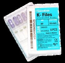 Kerr 06005 Sybron K-Files 21mm #20 (Kerr 06005)