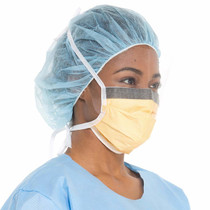 Kimberly-Clark 48247 Fluidshield Wrap Around Tie-On Mask, 25/Bx, bx