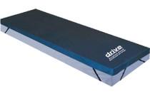 "Drive Medical 14893 Premium Guard Gel Foam Mattress Overlay 34"" x 76"" x 3.5"""