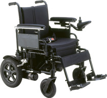 Drive Medical CPN24FBA CIRRUS PLUS HD Heavy-Duty Folding Power Wheelchair Rear-Wheel Drive