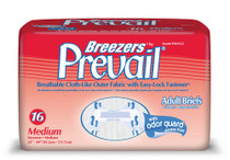 "Brief Prevail Breezers Medium 32"" - 44"" waist 12/pkg 8pkg/Case (PVB-012/2) (Prevail 740-PVB-012/2)"