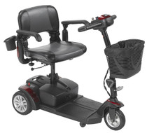"Drive Medical SFEX2317FS-21 Spitfire EX2, 3-Wheel 17"" Seat, 12AH"