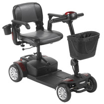 Drive Medical SFEX2417FS-12 Spitefire EX2, 4-Wheel Travel Scooter