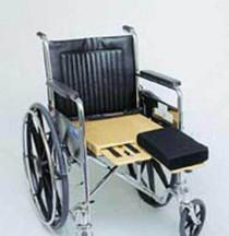 """6027 Amputee Seat (Hinge) Bilateral 18""""x18"""" (6027)"""