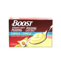 Nestle Nutrition 9523692 Boost Nutritional Pudding Vanilla 142g (5oz) cup 24/Case