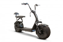 eWheels EW-08 FAT TIRE ELECTRIC SCOOTER Black (Free Shipping in Canada)