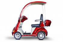 eWheels EW-54 4-Wheel Power Scooter/ Mini Golf Cart (EW-54) Red - FREE SHIPPING, No Sales Tax