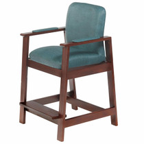 Drive Medical 17100 Hip-High Chair Cherry w/Bl
