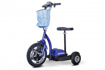 EWheels EW-18 Stand-N-Ride Recreational Scooter, Blue
