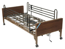 Drive 15030BV-FR Delta Ultra Light Semi-Electric Bed with Full Rails