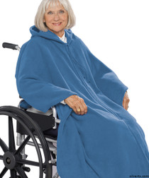 Silvert's 271000301 Mens Wheelchair Cape & Womens Adaptive Wheelchair Cape Clothing , Size ONE, WEDGEWOOD