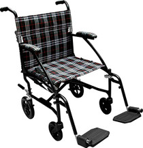 "Fly Weight Chair 19"" Silver (3428)"