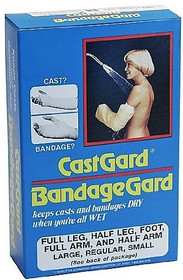 Grafco 4207 CastGard BandageGard Cast Cover waterproof Full Arm Adult Regular