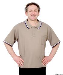 Silvert's 507100203 Adaptive Clothing Men , Size Large, BEIGE