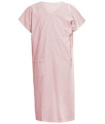 Pink V Neck Gown L (4413)