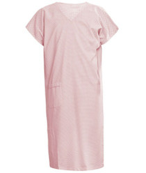 Pink V Neck Gown S (4411)