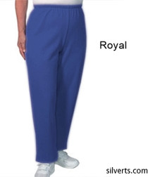 Silvert's 141200305 Regular Fleece Tracksuit Pants For Women , Size X-Large, ROYAL