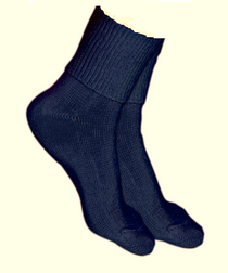 Silvert's 191100601 Simcan Ultra Stretch Comfort Diabetic Sock, Size Regular, CHARCOAL (Silvert's 191100601)