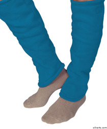 Silvert's 302600202 Women's Cozy Leg Warmers & Ankle Warmers , Size Small, FRENCH BLUE