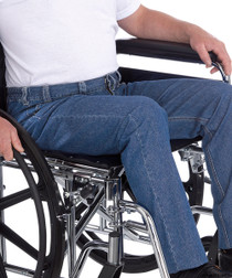Silvert's 410530104 Wheelchair Jeans For Men , Size 34, DENIM