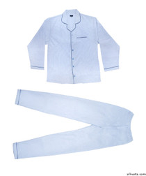 Silvert's 500800104 Mens Flannel Pyjamas , Size Large, ASSORTED