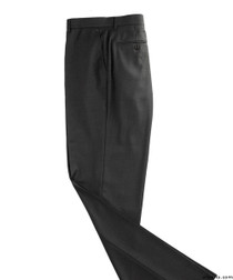 Silvert's 501900203 Mens Washable Dress Pants , Size 32, BLACK