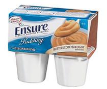ENSURE PUDDING ORAL SUPPLEMENT - Butterscotch 113g 4oz 48/Case AB53492-828