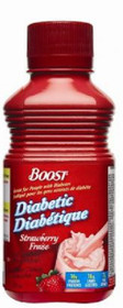 Nestle Nutrition 9524743 Boost Diabetic Strawberry 237ml (8oz) bottles 24/Case
