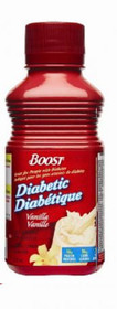 Nestle Nutrition 9524740 Boost Diabetic Vanilla 237ml (8oz) bottles 24/Case