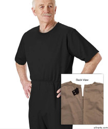 Silvert's 508300203 Mens' Alzheimers Clothing , Size Medium, BLACK