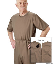 Silvert's 508300305 Mens' Alzheimers Clothing , Size X-Large, TAUPE