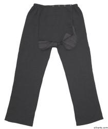 Silvert's 509400304 Fleece Adaptive Wheelchair Pants For Men , Size Large, GREY MIX