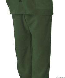Silvert's 518100302 Mens Easy Access Clothing Polar Fleece Pants , Size Small, KHAKI