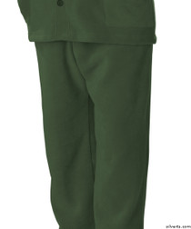 Silvert's 518100304 Mens Easy Access Clothing Polar Fleece Pants , Size Large, KHAKI