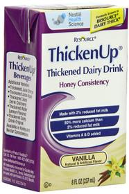 Nestle 9521693 Resource Thickened Juice Honey Apple 237ml (8oz) tetras 27/Case NN9521693