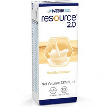 Resource Oral or Enteral Supplement 2.0 Vanilla 237ml (8.3oz) 27/Case NN9521595 (NN9521595)