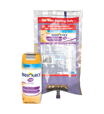 Nestle 12172664 IsoSource Enteral or Oral VHP, Spikeright, Fibre Free, 1L (33.8oz), 6/Case
