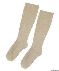 Silvert's 193300301 Womens Mild Compression Knee Sock , Size ONE, TAN