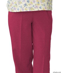 Silvert's 232200201 Womens Adaptive Open Back Wheelchair Pants , Size Small, ORCHID