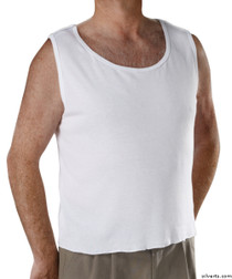 Silvert's 280260102 Mens Adaptive Clothing , Size XX-Large, WHITE