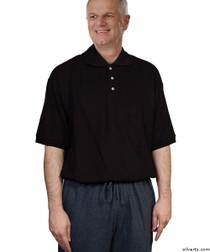 Silvert's 508800501 Men's Alzheimer's AntiStrip Jumpsuit , Size Small, BLACK/GREY