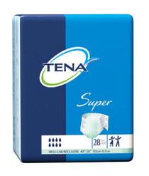 """TENA 67405 Super Tab Closure Regular Disposable Heavy Absorbency, REGULAR 102cm-127cm (40""""- 50"""") GREEN"""