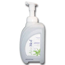 ALOE MED ALM034 Foam Hand Sanitizer Pump top 32oz (950mL) CleanShape bottle 8/Case (ALOE MED ALM034)