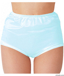 Silvert's 180300502 Womens Nylon Briefs , Size Small, BLUE