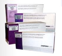Medline MDS192027 DISPOSAMED LATEX LIGHTLY Powdered Gloves Non-Sterile X-Large (Medline MDS192027)